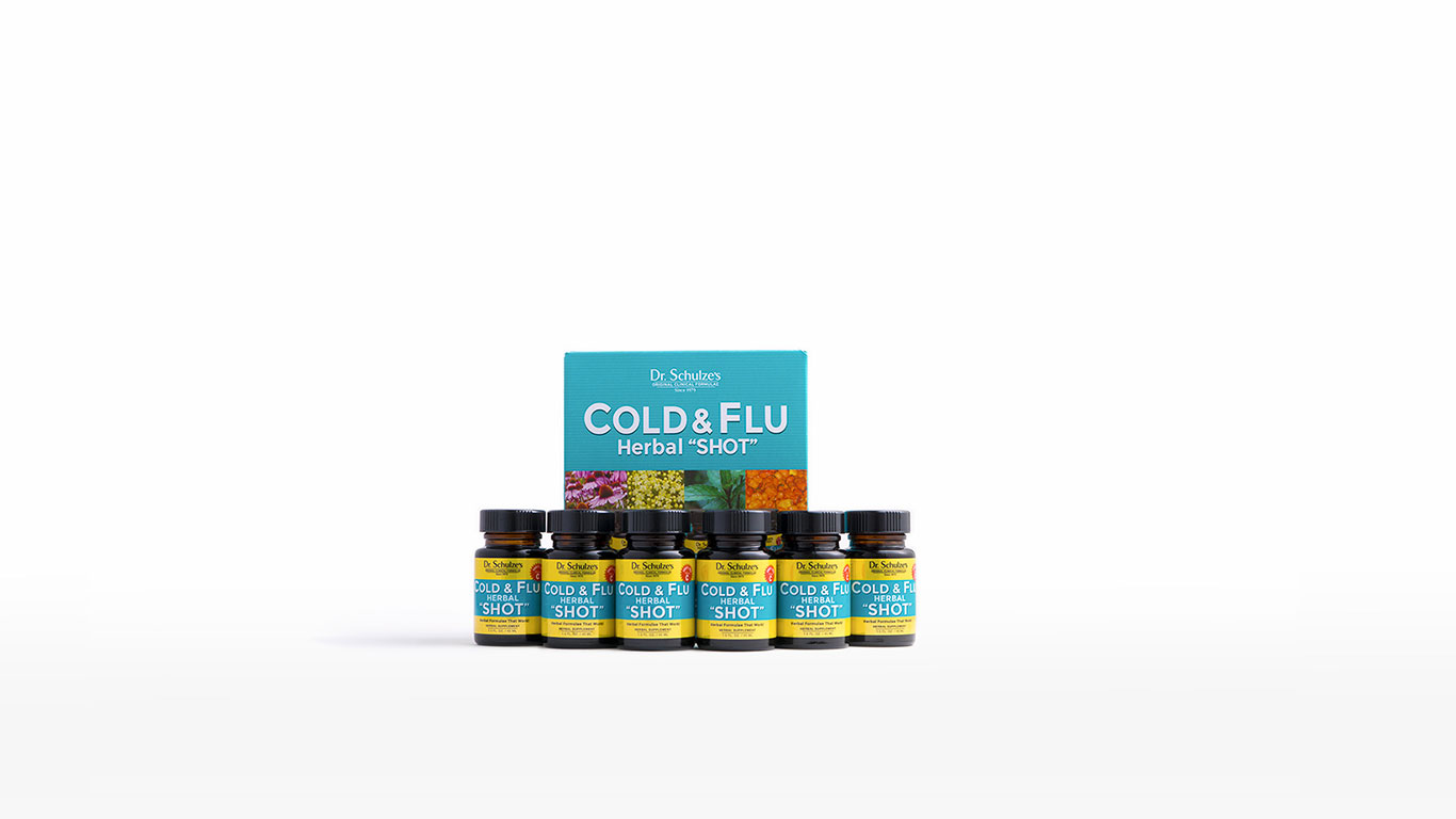 Cold & Flu Herbal Shot 1366x768